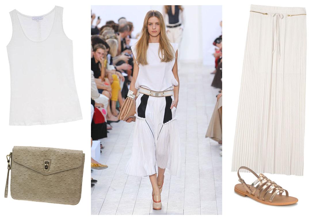 total look blanc comment s habiller au bureau quand il fait chaud elle. Black Bedroom Furniture Sets. Home Design Ideas