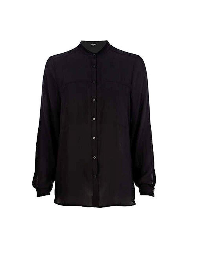 chemise oversize sans col river island les 10 nouveaux. Black Bedroom Furniture Sets. Home Design Ideas