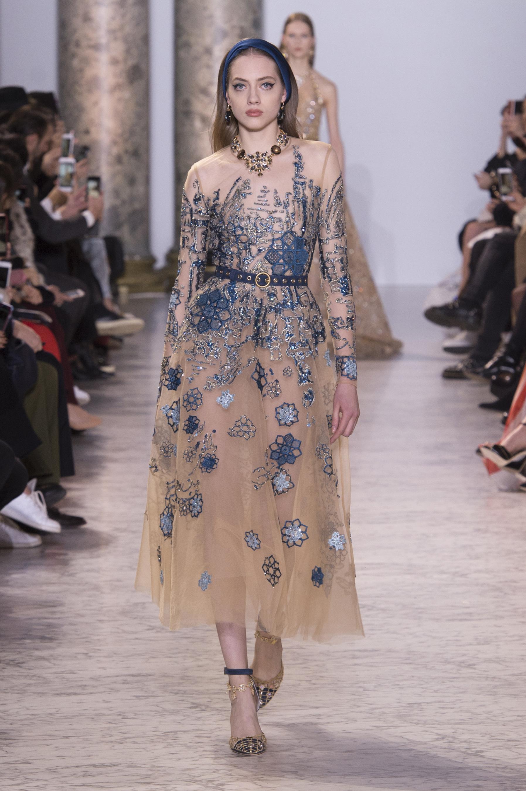 D fil elie saab haute couture printemps t 2017 paris for Haute couture and pret a porter
