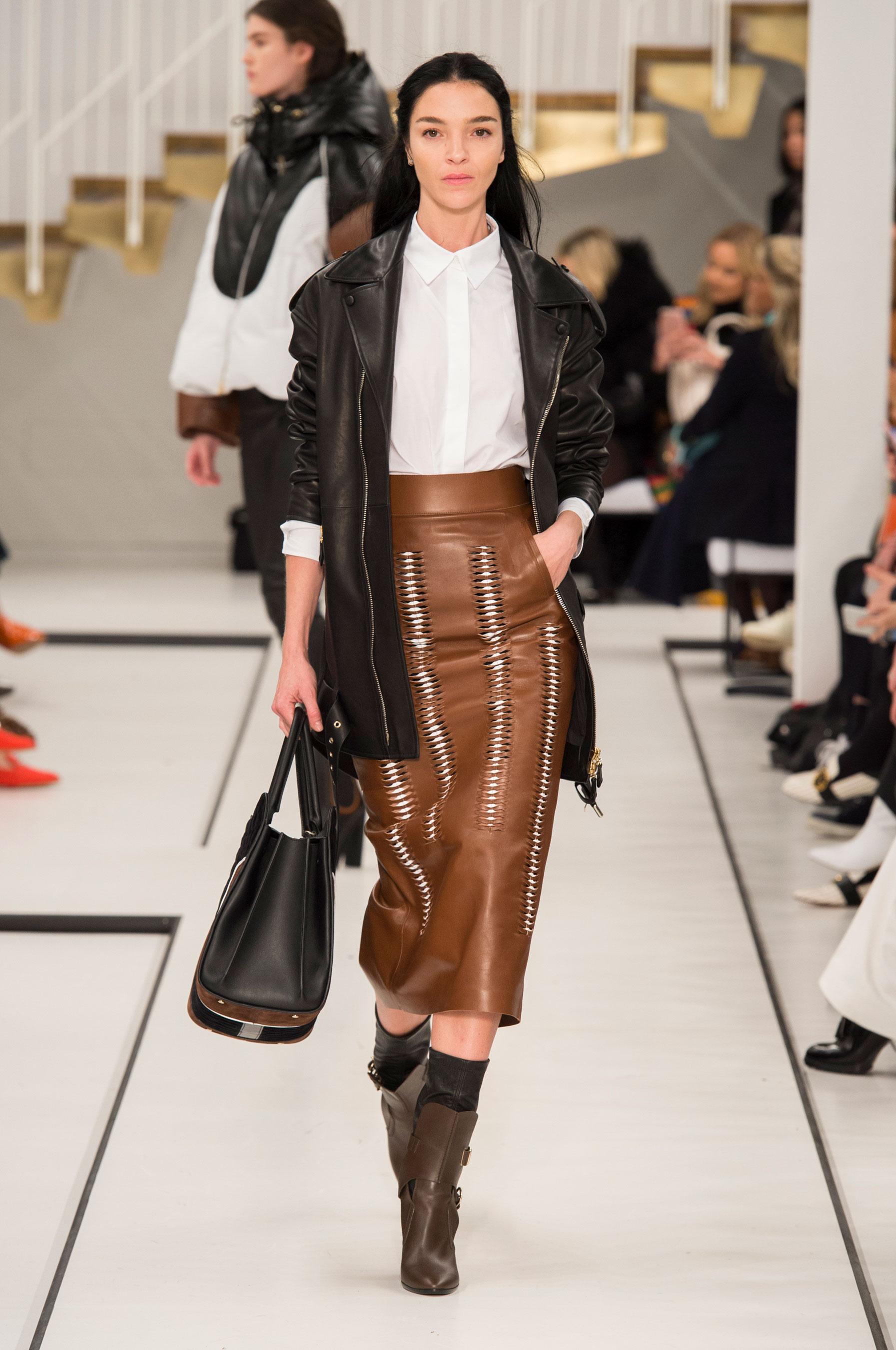 D fil tod 39 s pr t porter automne hiver 2017 2018 milan - Mode hiver 2018 ...