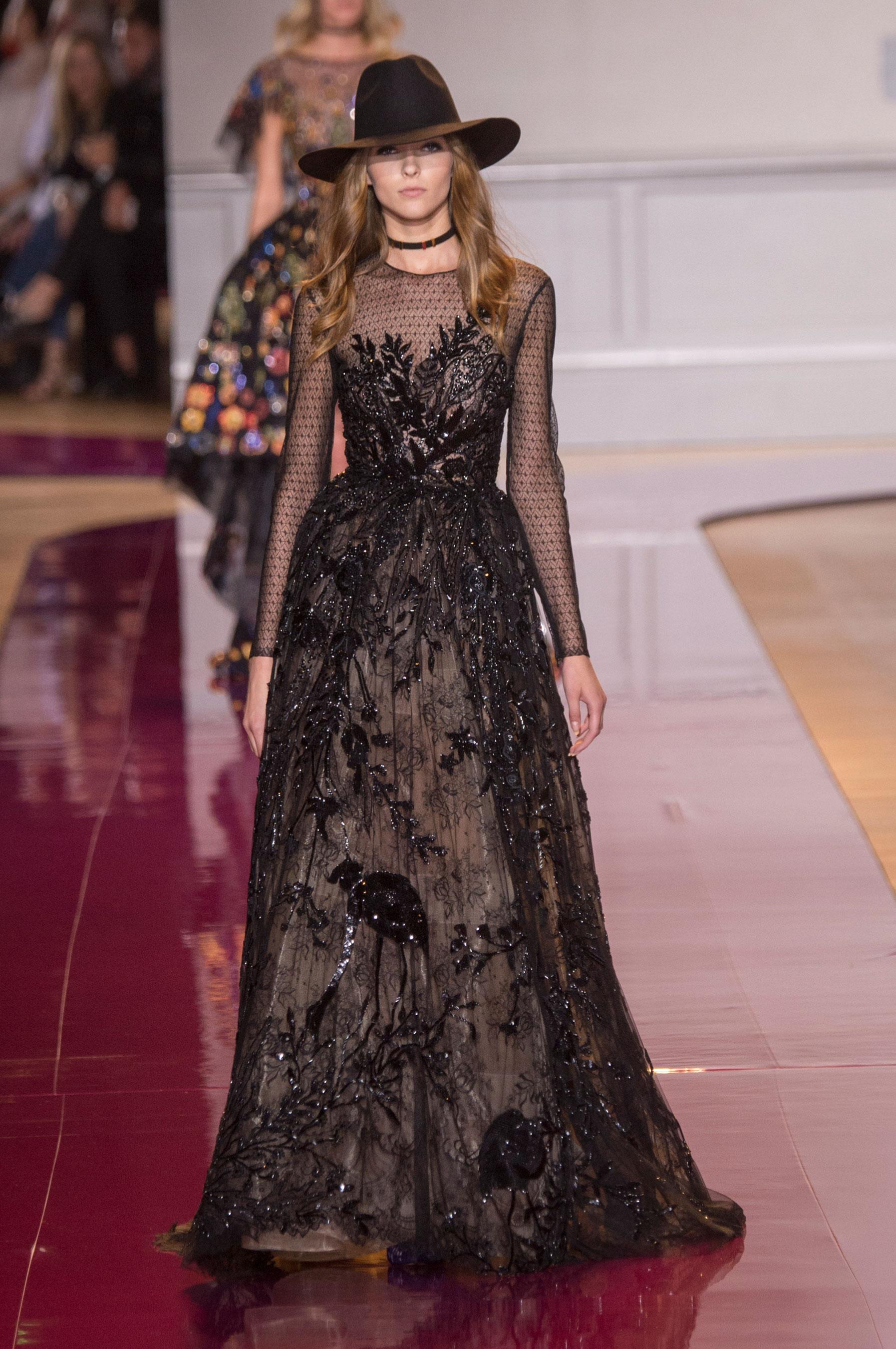 D fil zuhair murad haute couture automne hiver 2016 2017 for Haute couture 2017