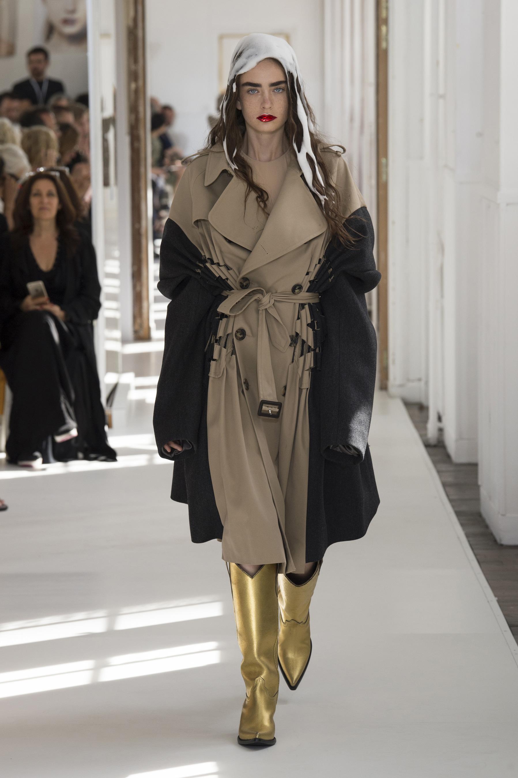 D fil maison margiela haute couture automne hiver 2017 for Mode de maison