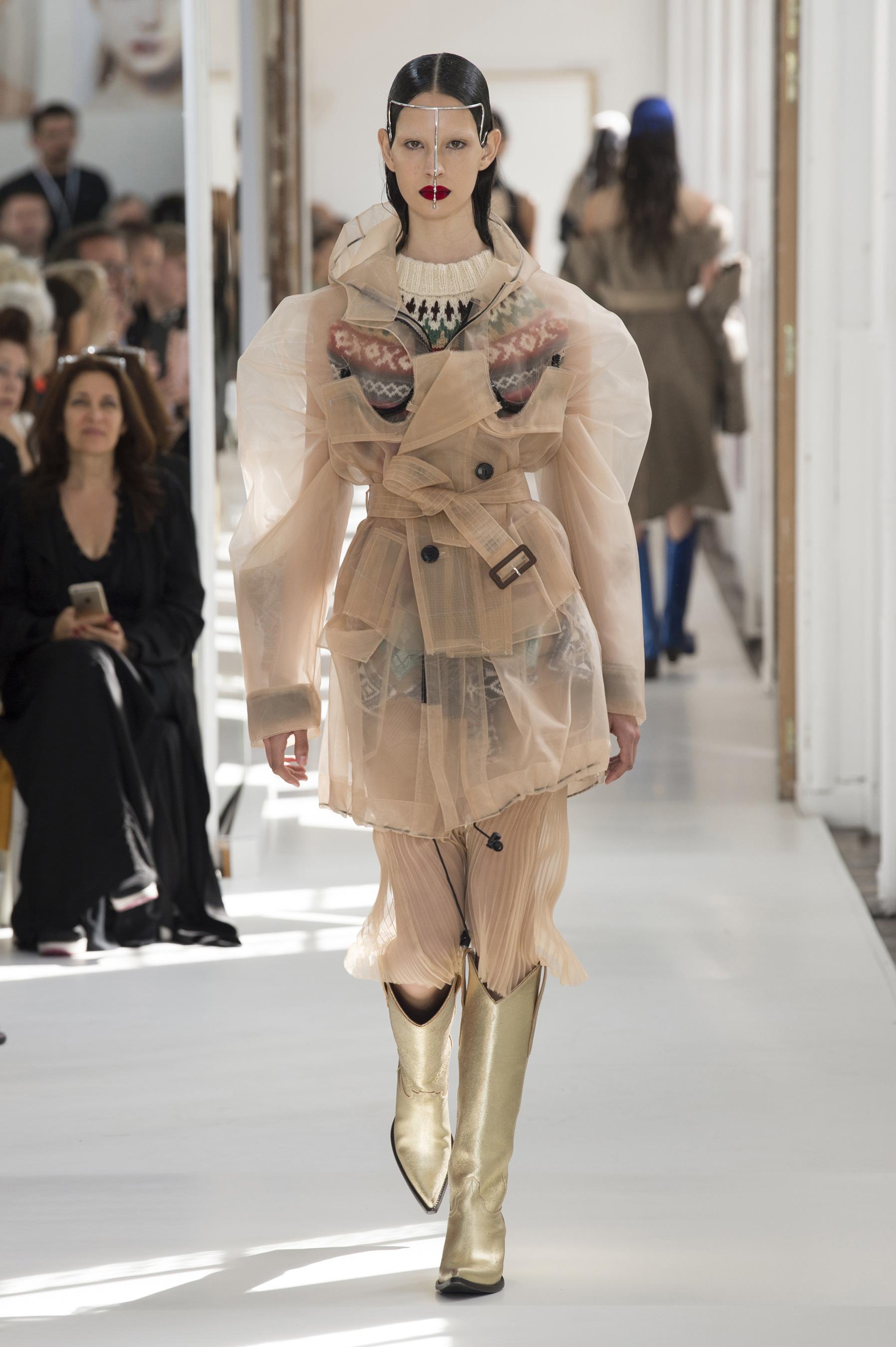 D fil maison margiela haute couture automne hiver 2017 for Margiela haute couture