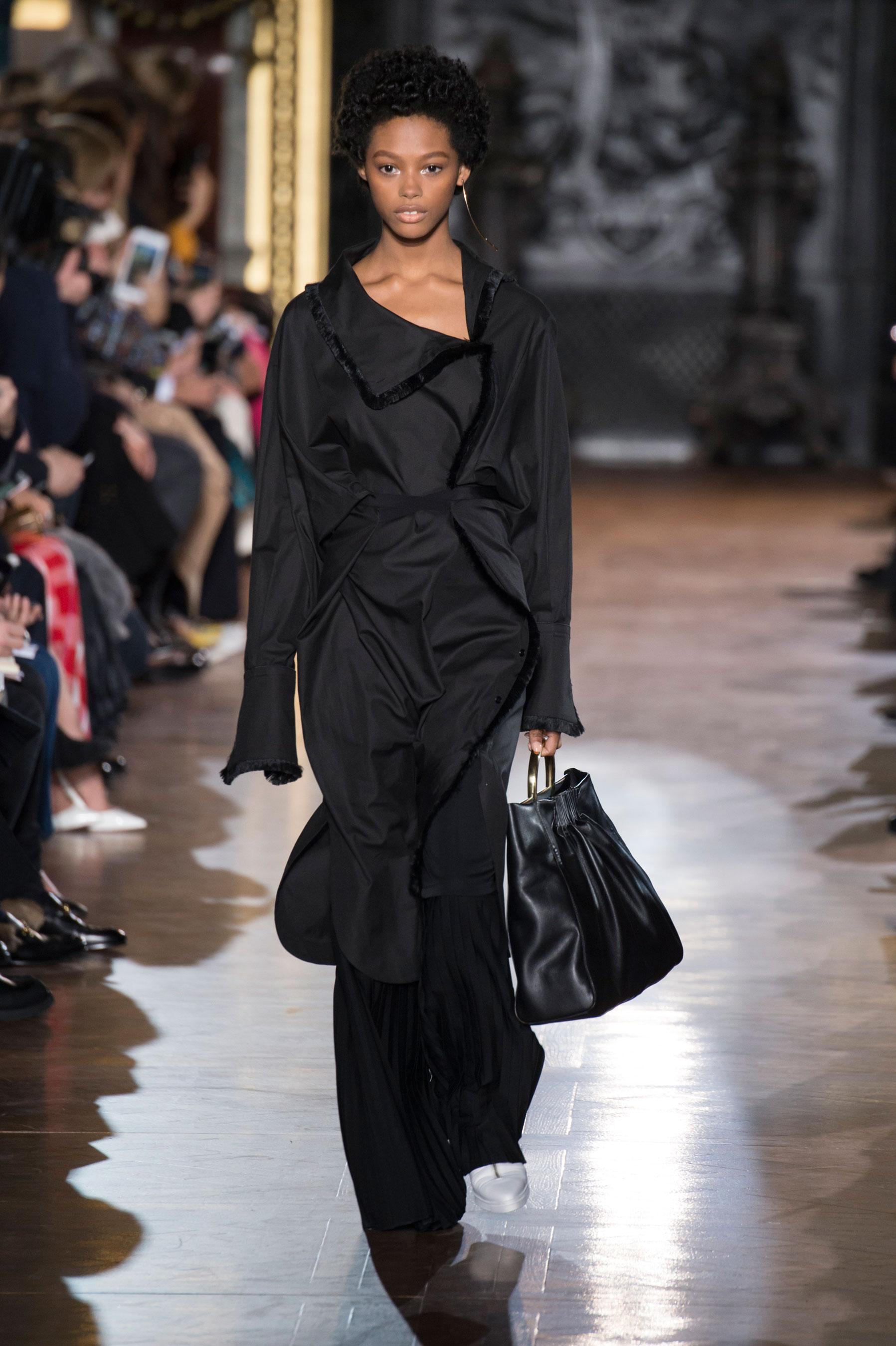 Stella Mccartney Robe Doudoune Fashion Week