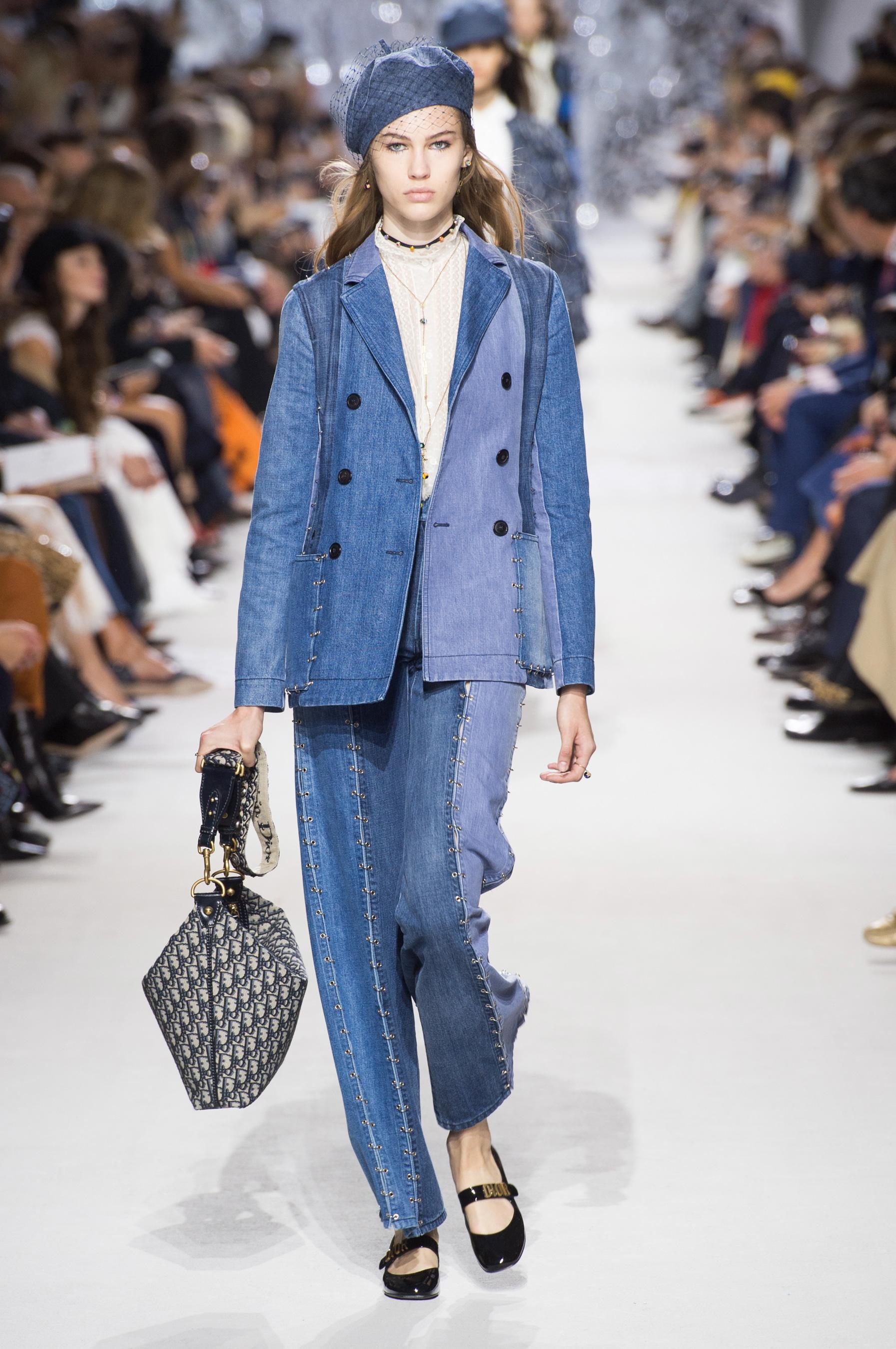 D Fil Christian Dior Pr T Porter Printemps T 2018 Paris Elle