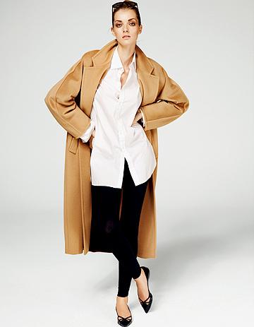 101 801 le manteau personnalisable par max mara elle. Black Bedroom Furniture Sets. Home Design Ideas