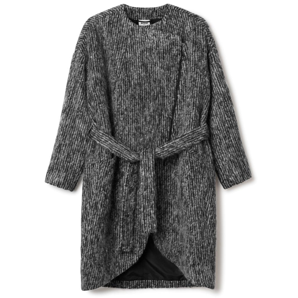 manteau weekday soldes hiver 2015 50 articles moins de 100 euros elle. Black Bedroom Furniture Sets. Home Design Ideas