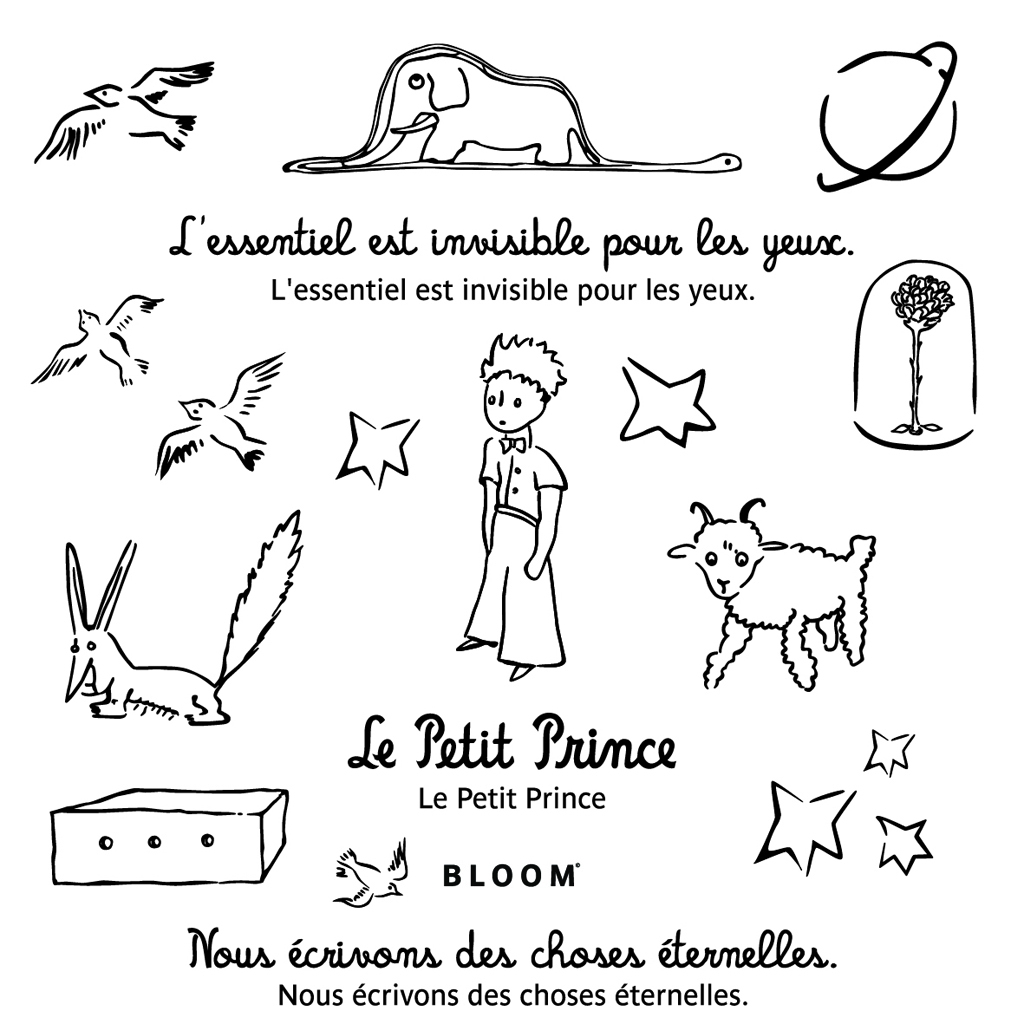 it pi ce les tatouages ph m res du petit prince by. Black Bedroom Furniture Sets. Home Design Ideas