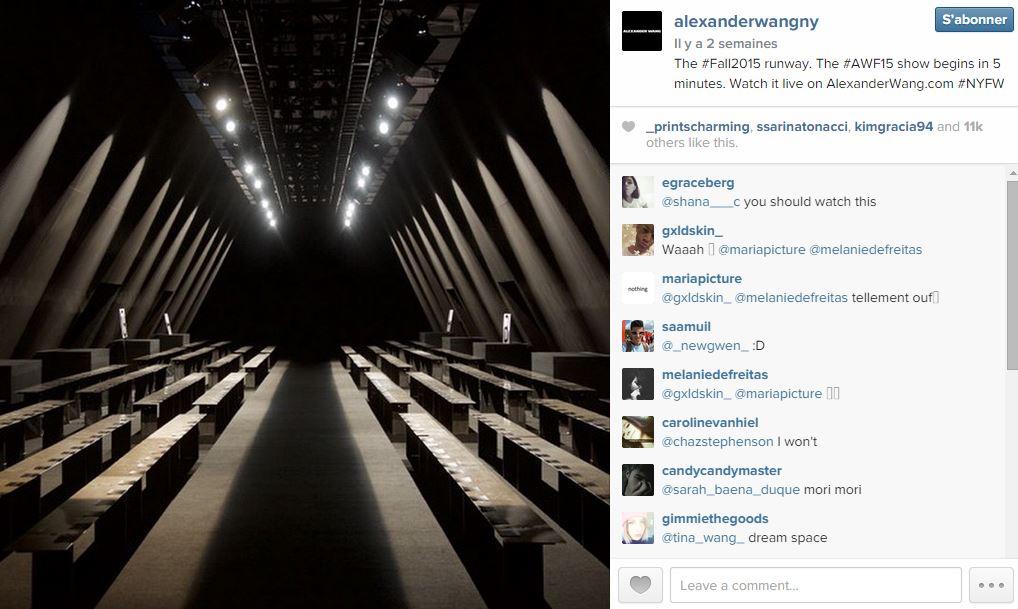 Alexander wang les 101 comptes instagram suivre pendant la fashion week elle - Qui suivre sur instagram ...