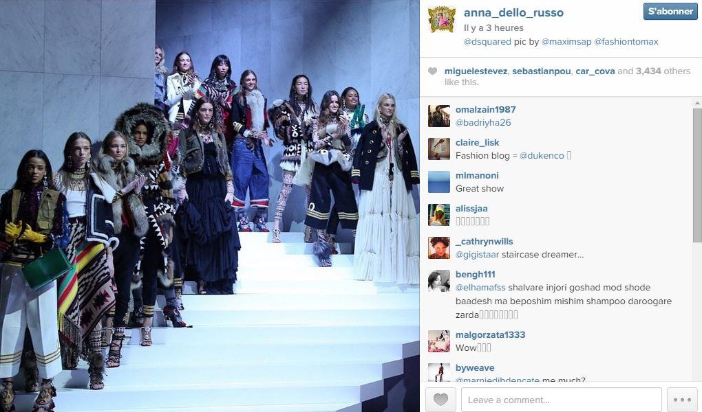 Anna dello russo les 101 comptes instagram suivre pendant la fashion week elle - Qui suivre sur instagram ...