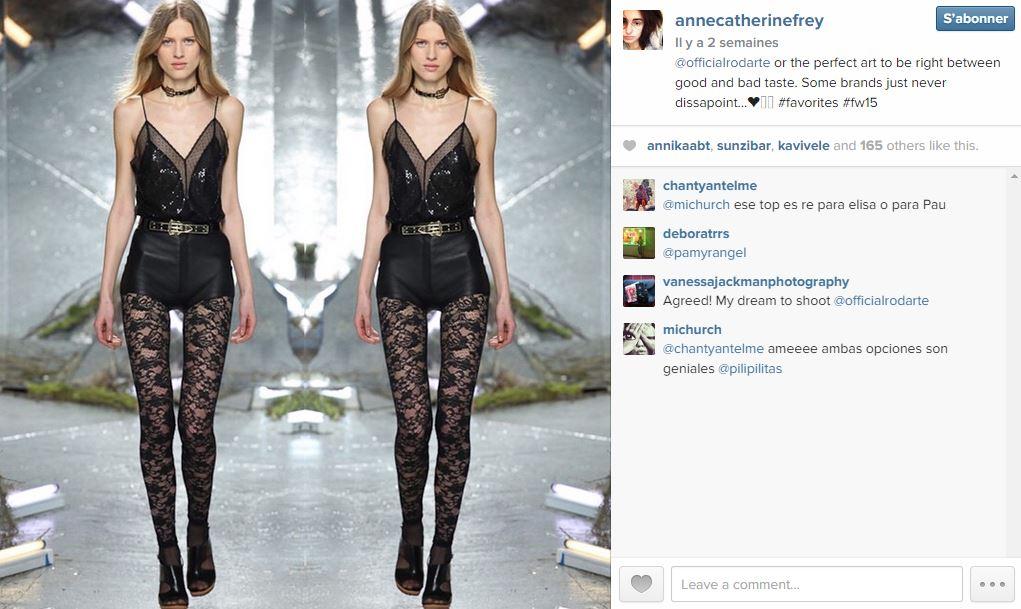 Anne catherine frey les 101 comptes instagram suivre pendant la fashion week elle - Qui suivre sur instagram ...