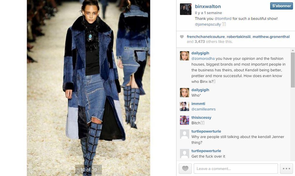 Binx walton les 101 comptes instagram suivre pendant la fashion week elle - Qui suivre sur instagram ...