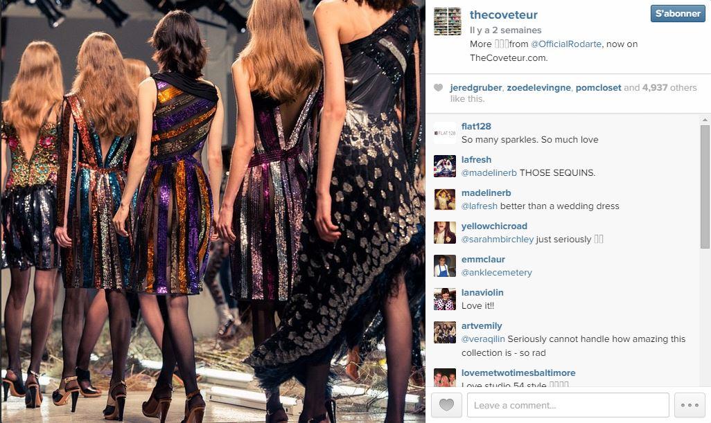 The coveteur les 101 comptes instagram suivre pendant la fashion week elle - Qui suivre sur instagram ...
