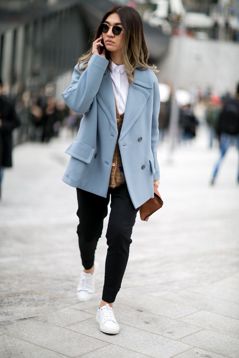 Street Style Le Bon 39 Office Look 39 Elle