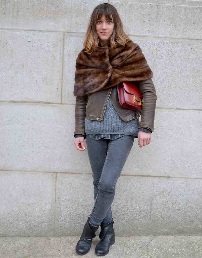 Aurelie Gaillard Street Style Fashion Week Street Style La Tenue De Fashion Week Des Filles