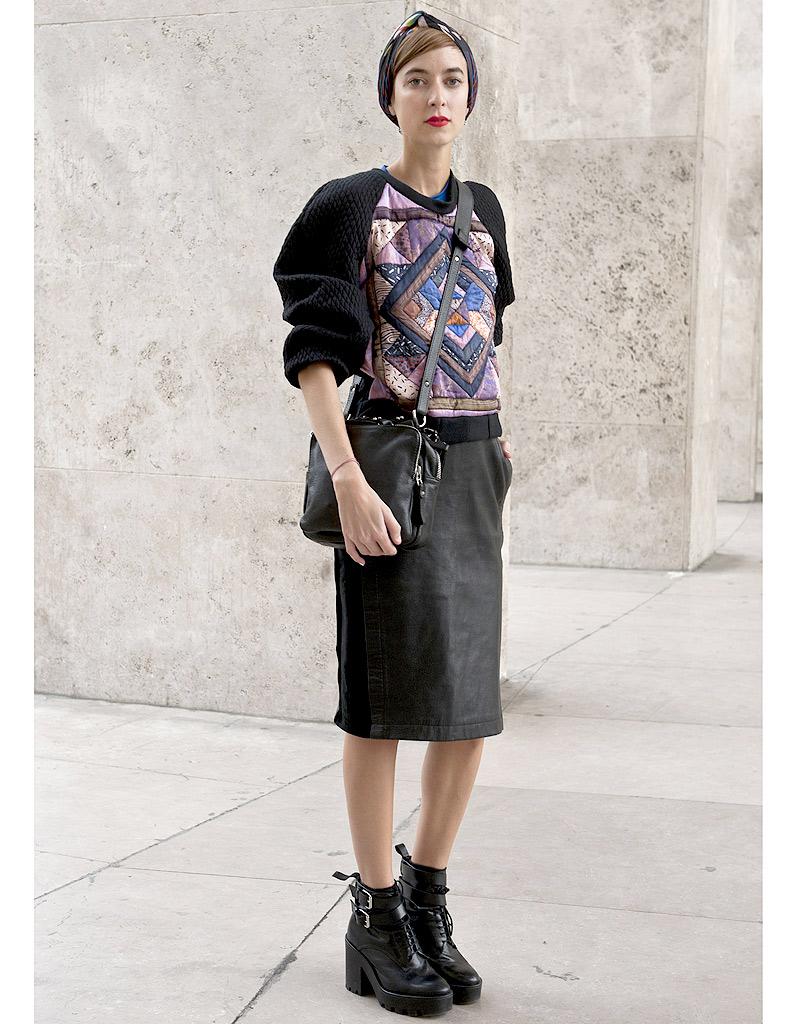Les Boots Street Style Fashion Week Les 14 Nouveaux