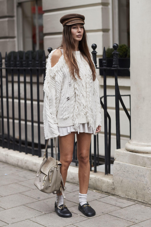Street Style Londres Les Plus Beaux Looks Rep R S La Fashion Week De Londres Elle