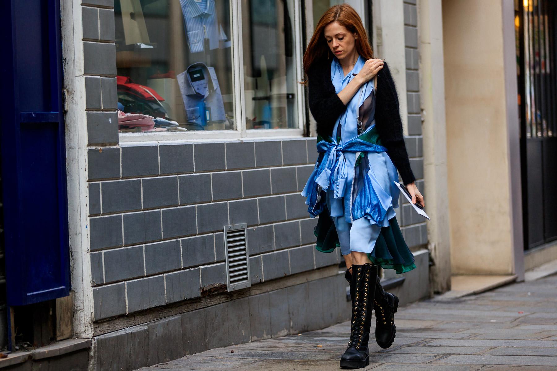 Street Style Paris Les Id Es Mode Piquer Aux Filles