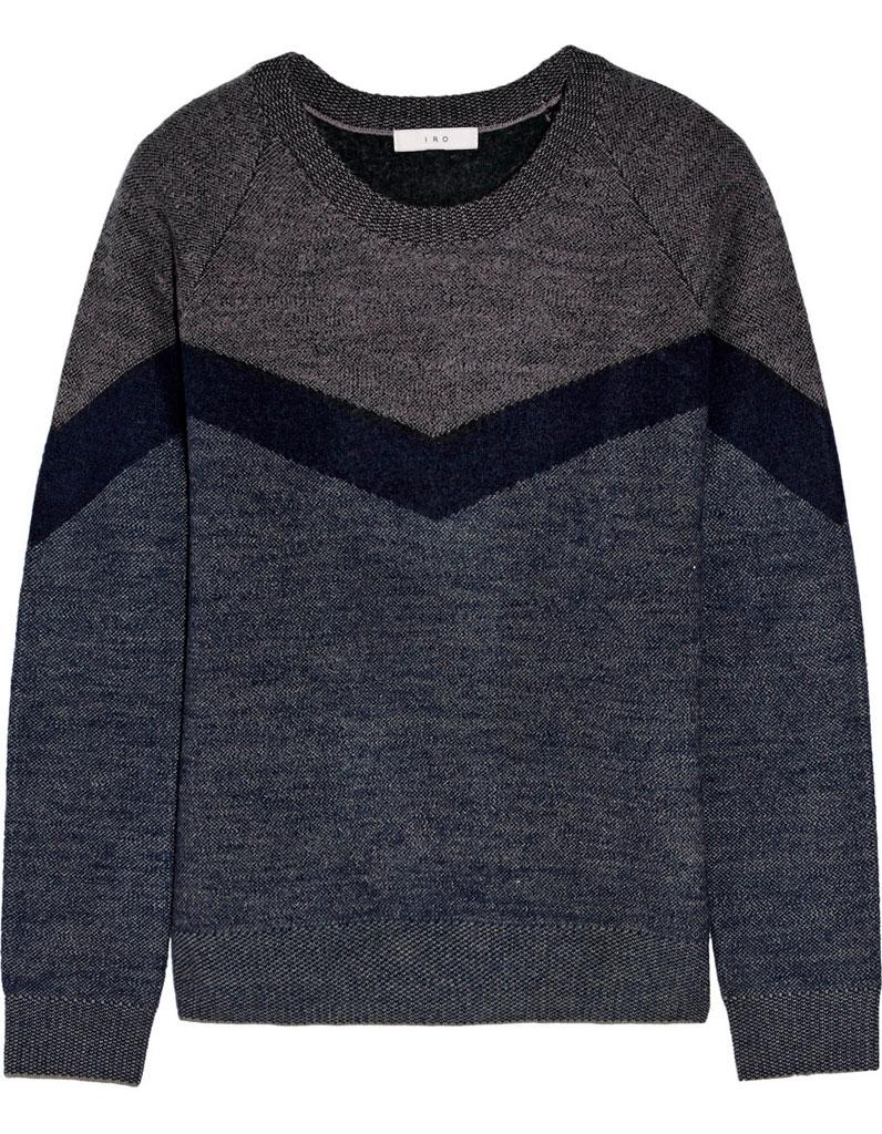 pull en laine chaud iro 30 pulls en laine pour tre au chaud tout l hiver elle. Black Bedroom Furniture Sets. Home Design Ideas
