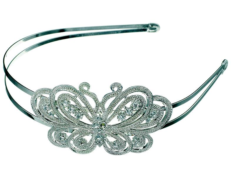 claire 39 s papillon mariage accessoires pour les cheveux elle. Black Bedroom Furniture Sets. Home Design Ideas