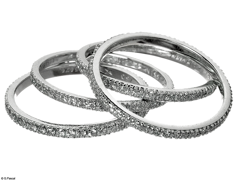 Connu Mode diaporama accessoire bijoux mariage alliance mauboussin  NK57