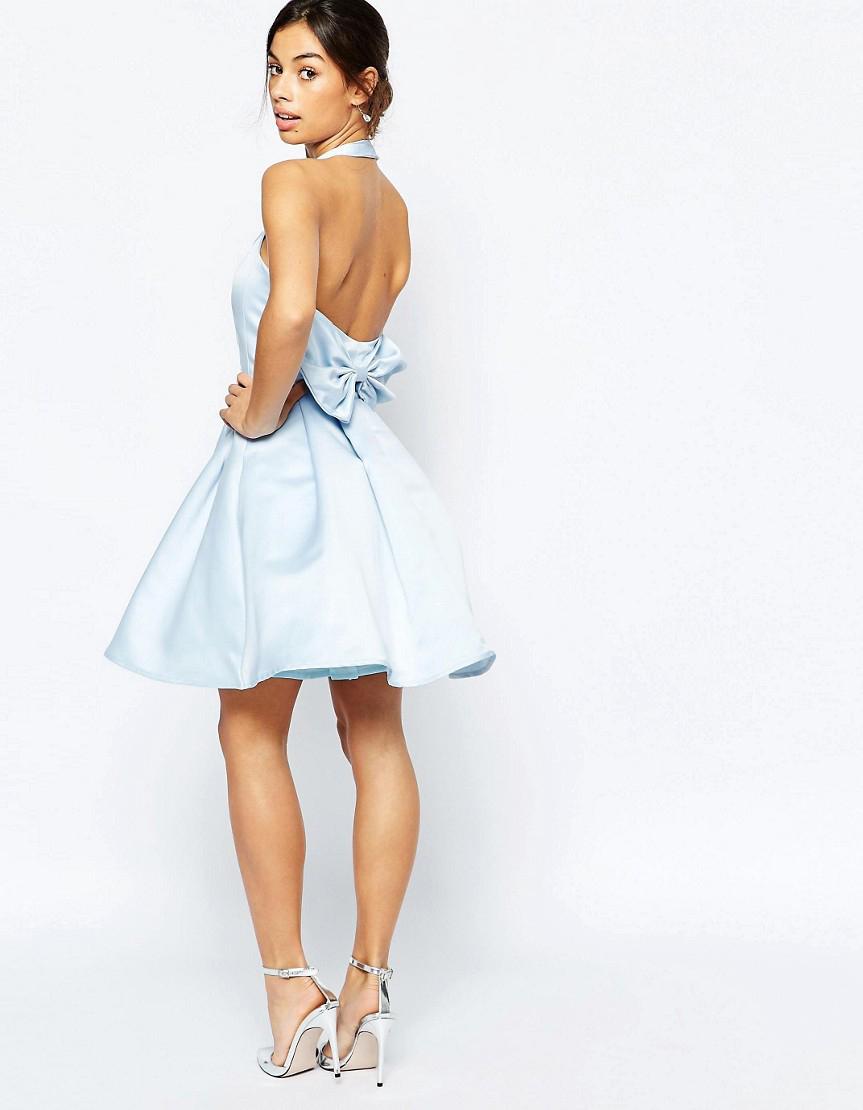 robe dos nu avec n ud asos 15 robes dos nu pour faire de l 39 effet des deux c t s elle. Black Bedroom Furniture Sets. Home Design Ideas