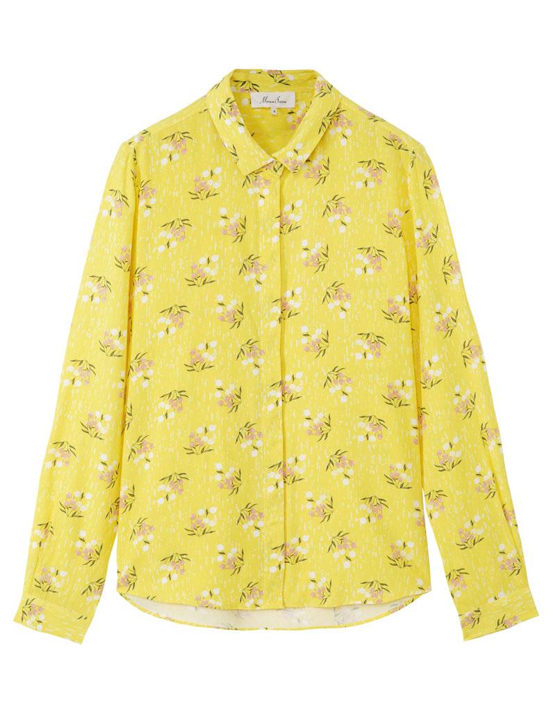 chemise femme jaune 21 chemises pour passer du bureau au resto elle. Black Bedroom Furniture Sets. Home Design Ideas
