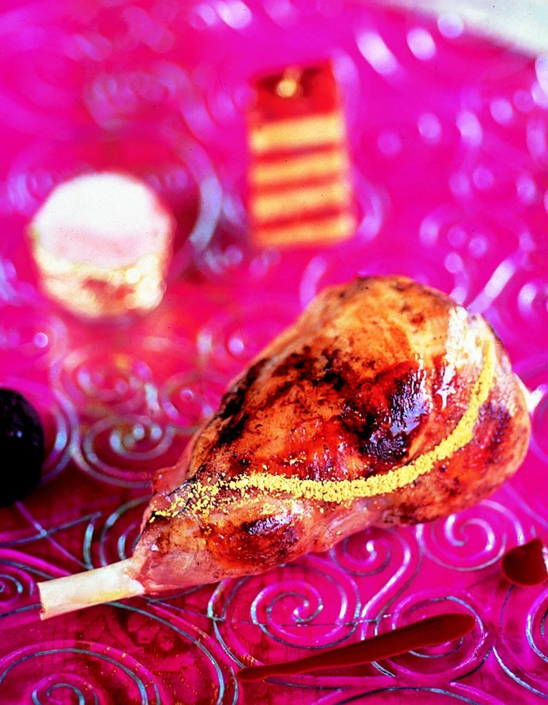 D lice de lapin dor au millefeuille de chorizo et foie gras comment cuisiner le lapin pour - Comment cuisiner le foie gras cru ...