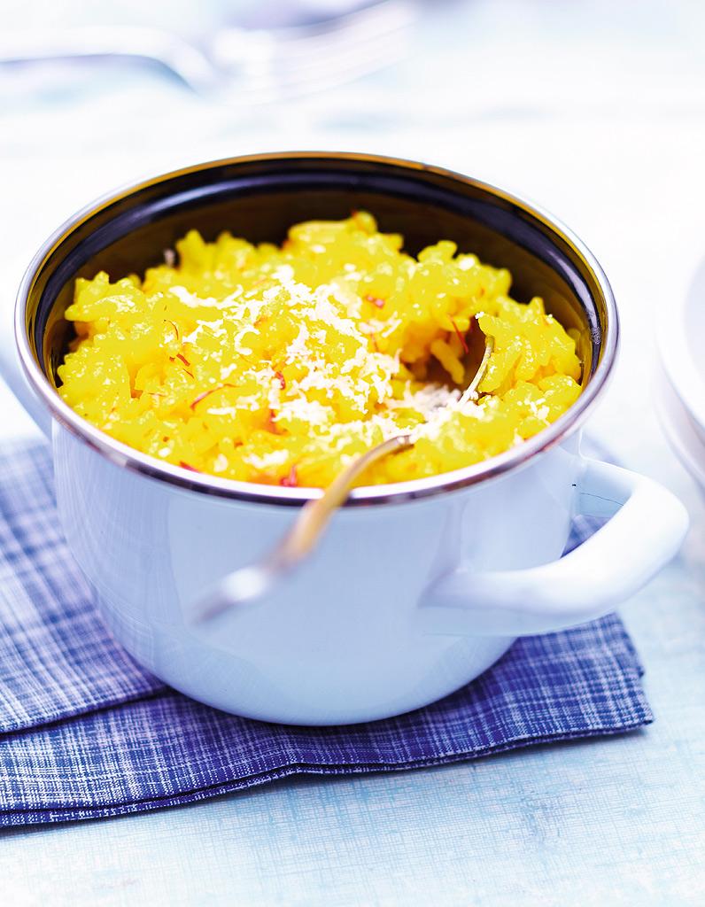 Risotto au safran et citrons confits 10 recettes de no l faciles et inratables pour un menu d - Risotto noel ...
