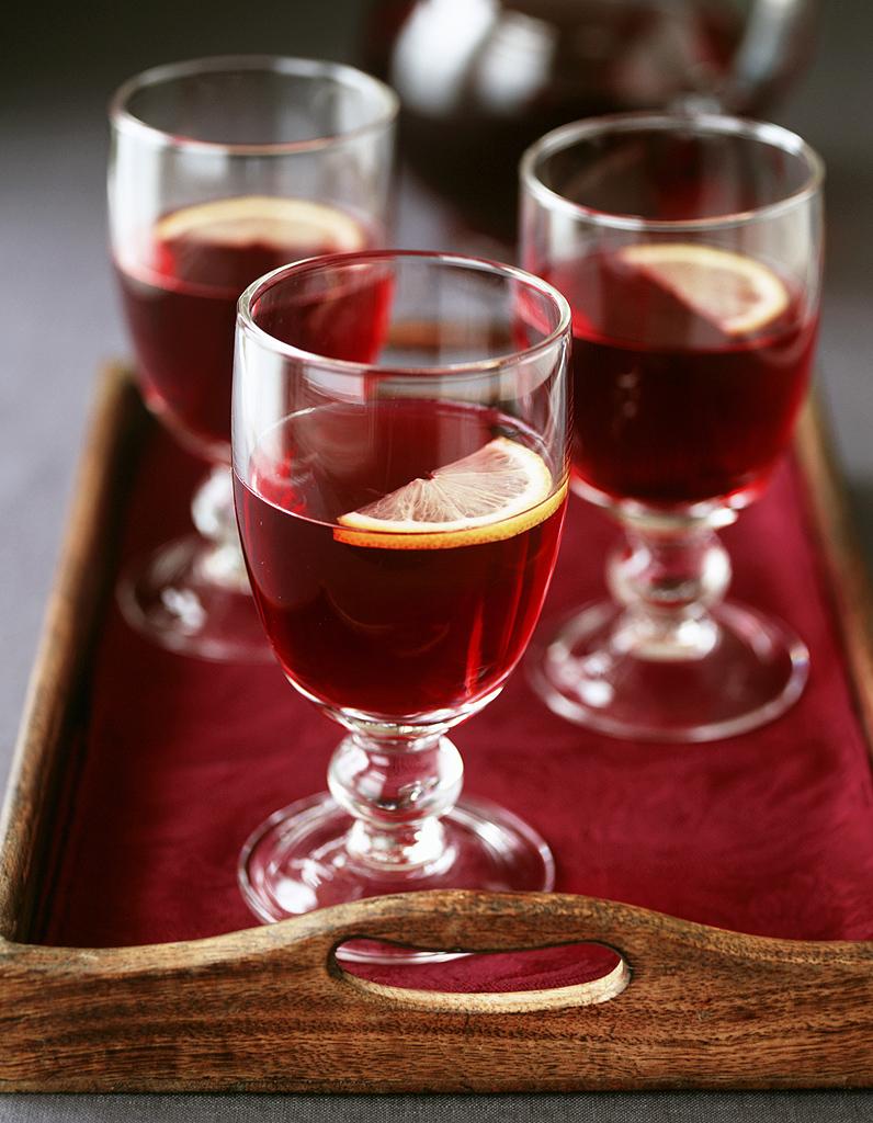 Recettes de cocktails pour no l avec alcool elle - A bon verre bonne table recettes ...