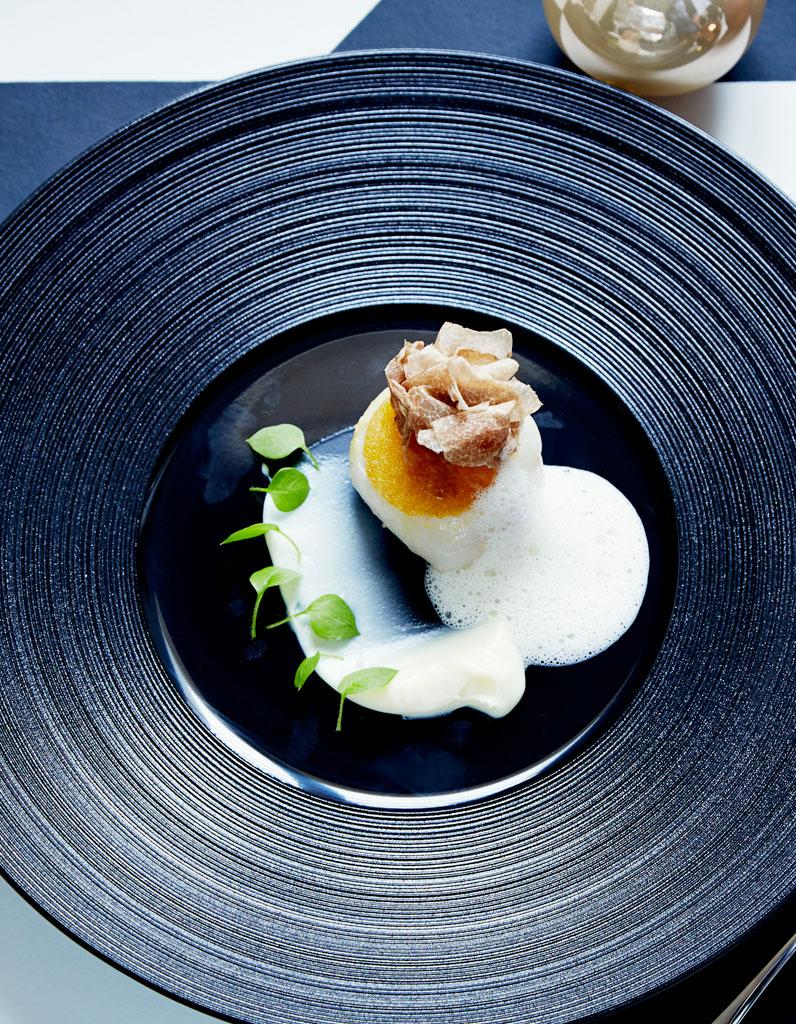 Melba de noix de saint jacques pur e de panais mulsion - Cuisine noix de saint jacques ...