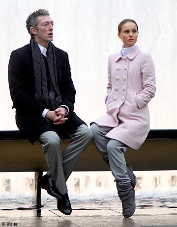 1ère photo de Natalie Portman et Vincent Cassel en ...