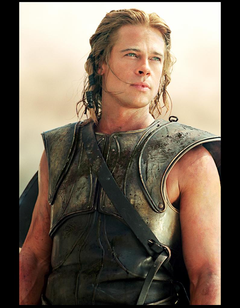 Brad Pitt s'est blessé au talon d'Achille sur le tournage du film ... Gwyneth Paltrow
