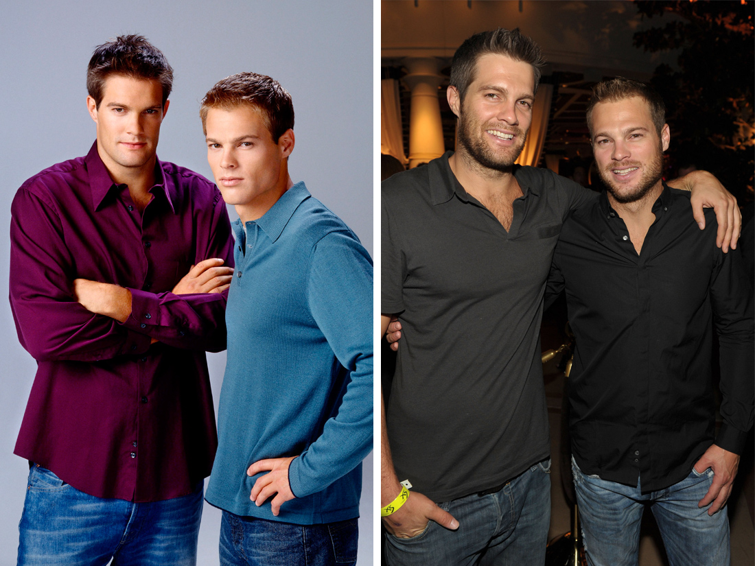 George et geoff stults alias ben et kevin kirkin 7 la for 7 a la maison acteurs