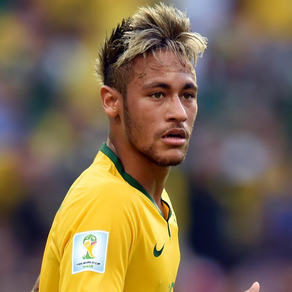 Neymar jr br sil br sil 2014 les 10 coupes de for Neymar 2014 coupe de cheveux