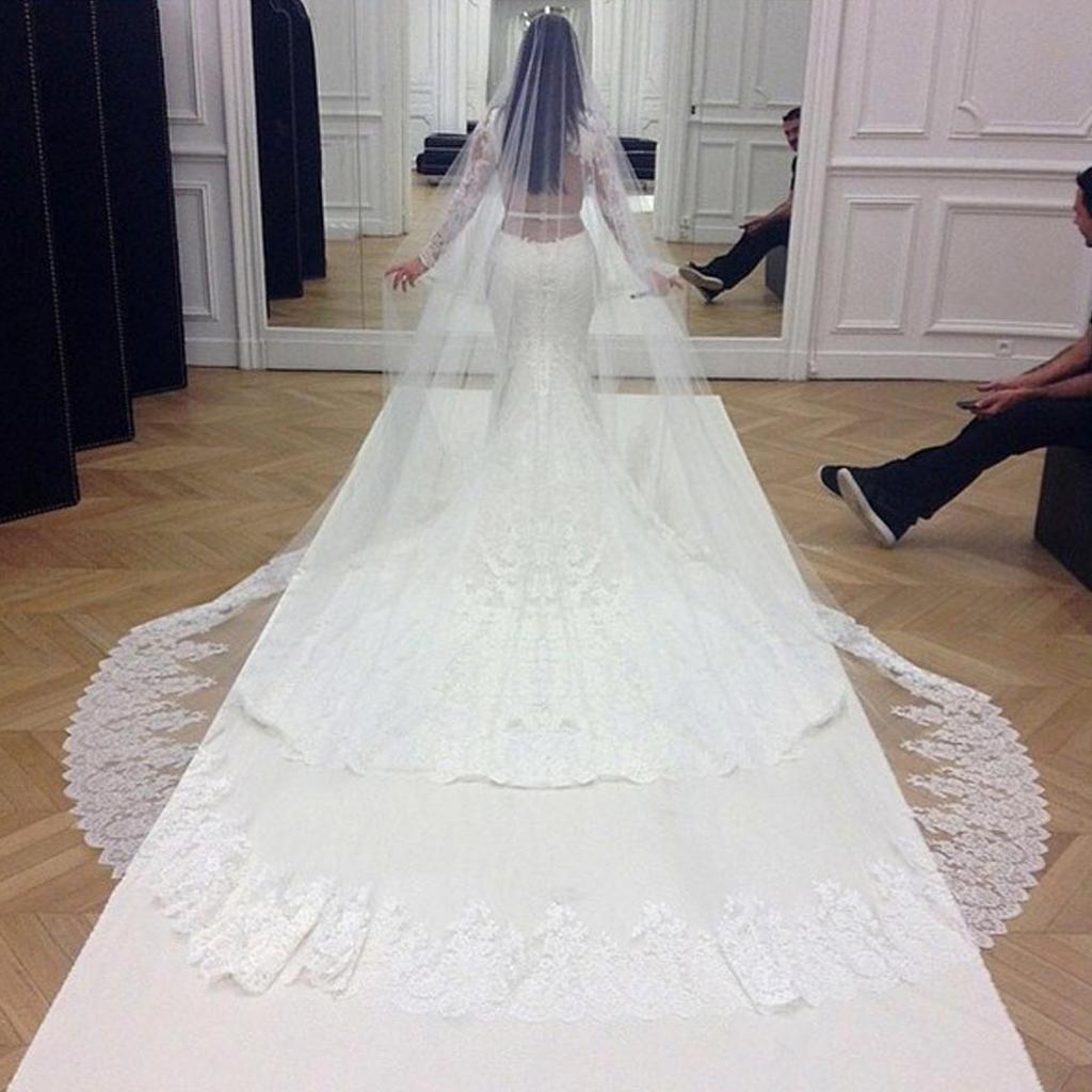 robe de mariee kim kardashian givenchy