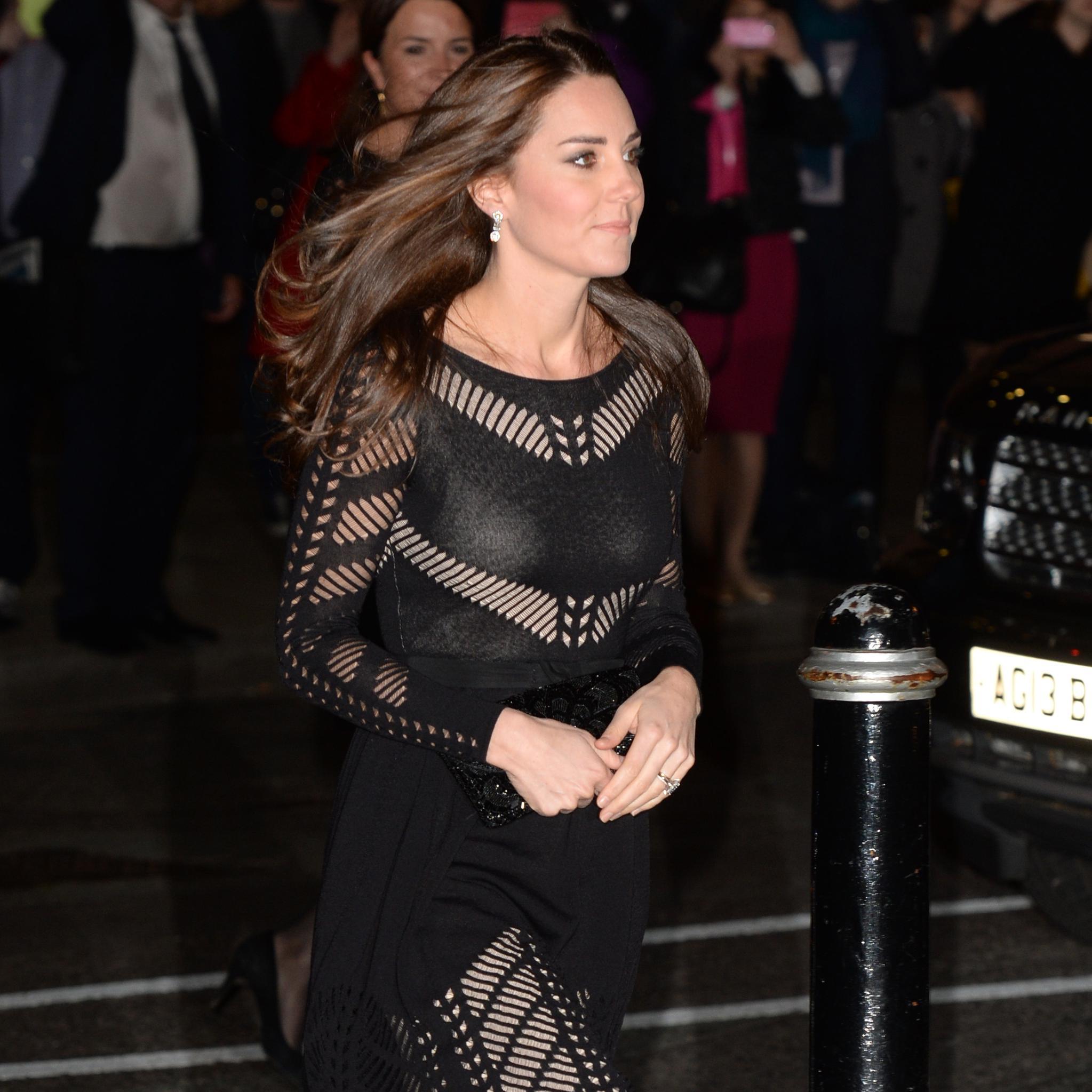 La petite robe noire de Kate Middleton en rupture de stock ...