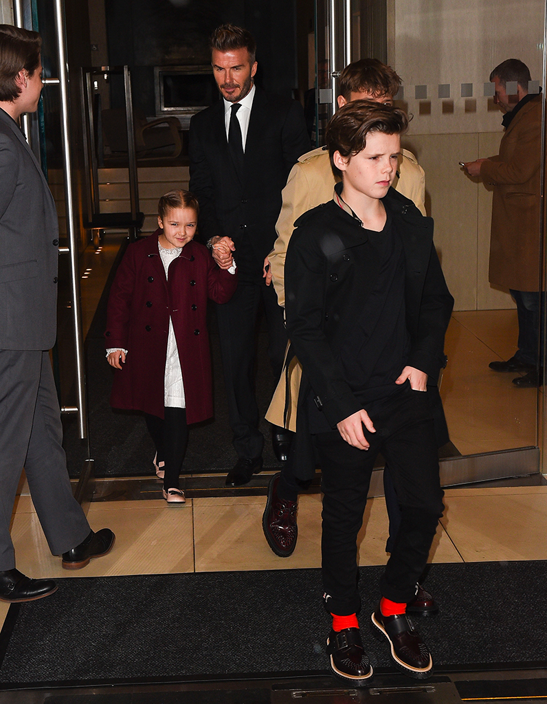 Harper Beckham Fashion Week