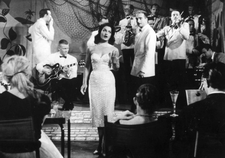 1959 Dalida Les Photos Rares D Une Ic 244 Ne Elle