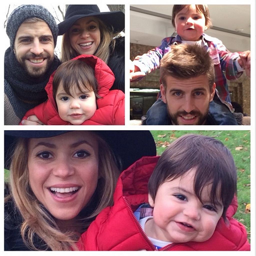 Shakira son fils milan a bien grandi elle for H s bains sons