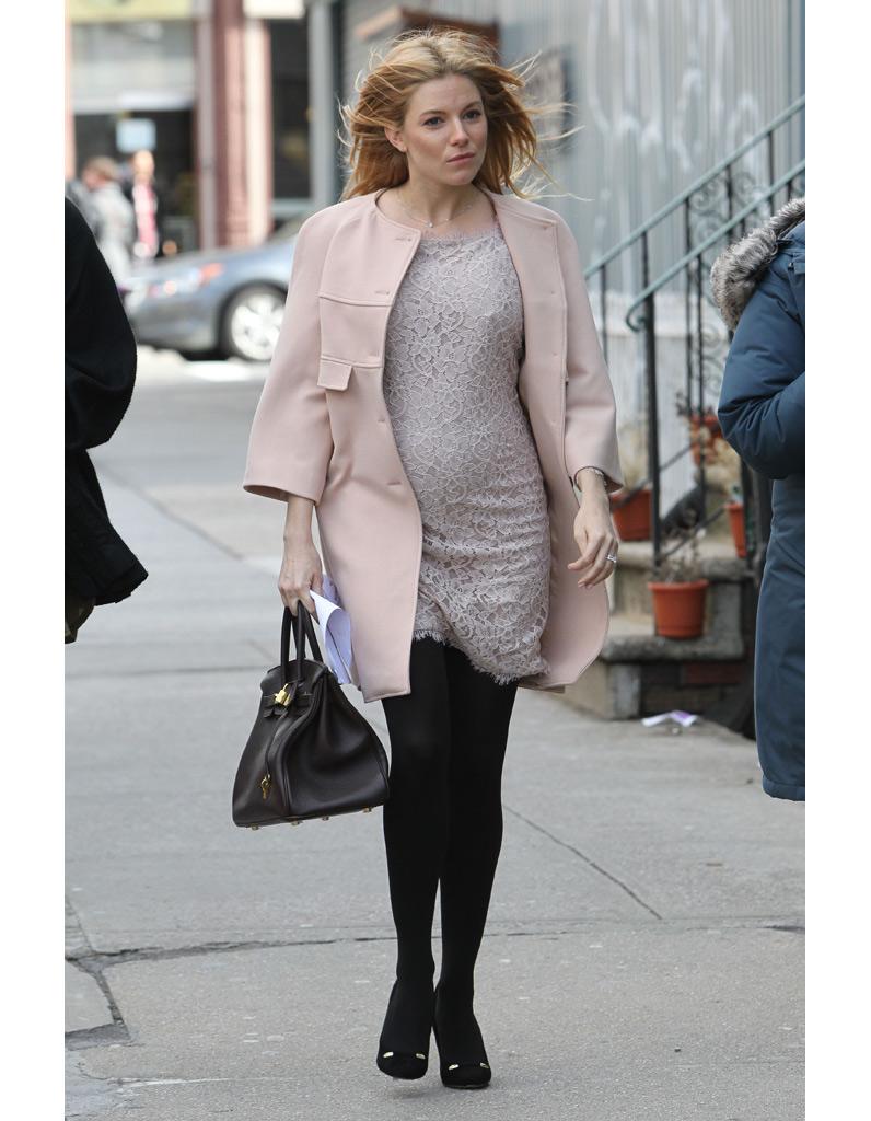 Sienna Miller enceinte...Sarah Jessica Parker 2014