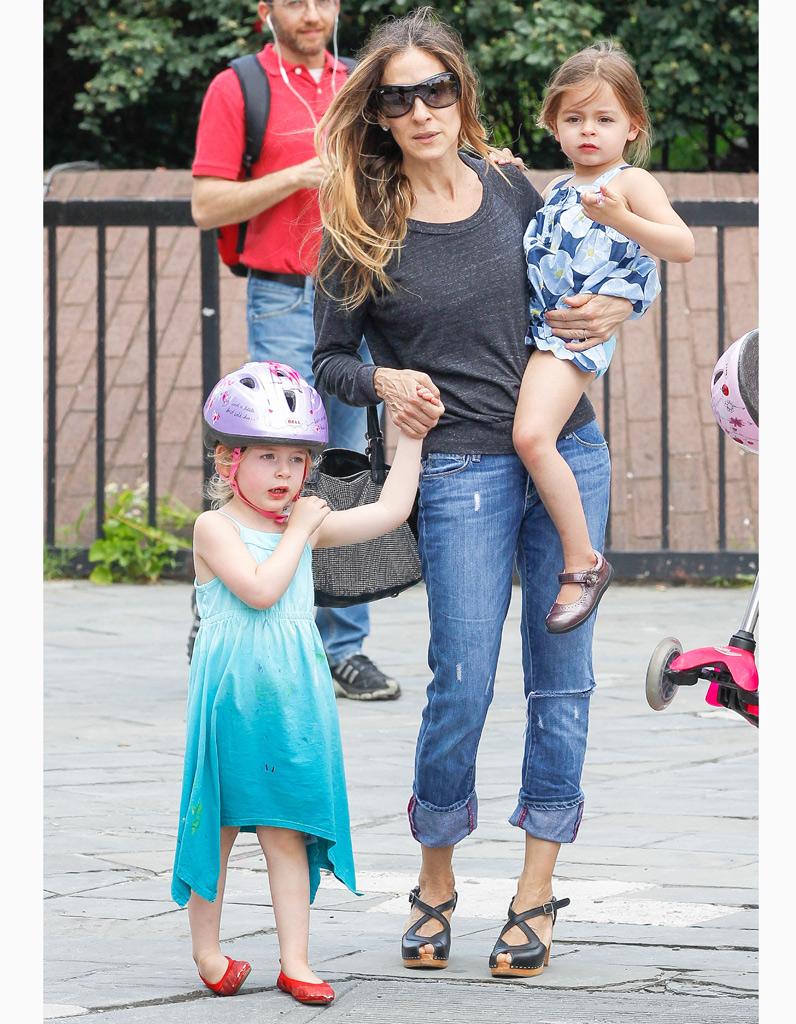 Sarah Jessica Parker Et Ses Jumelles Stars Styl Es De