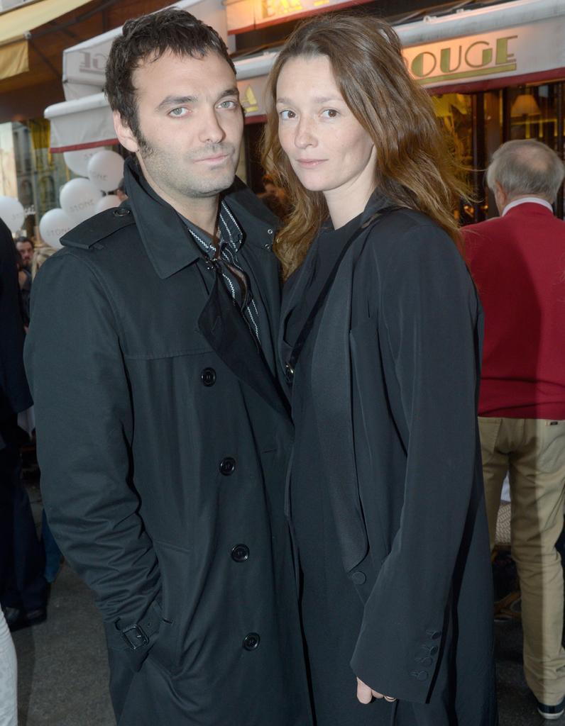 Audrey marnay et son compagnon virgile bramly l 39 inauguration de la boutique stone paris - Damien thevenot et son compagnon ...