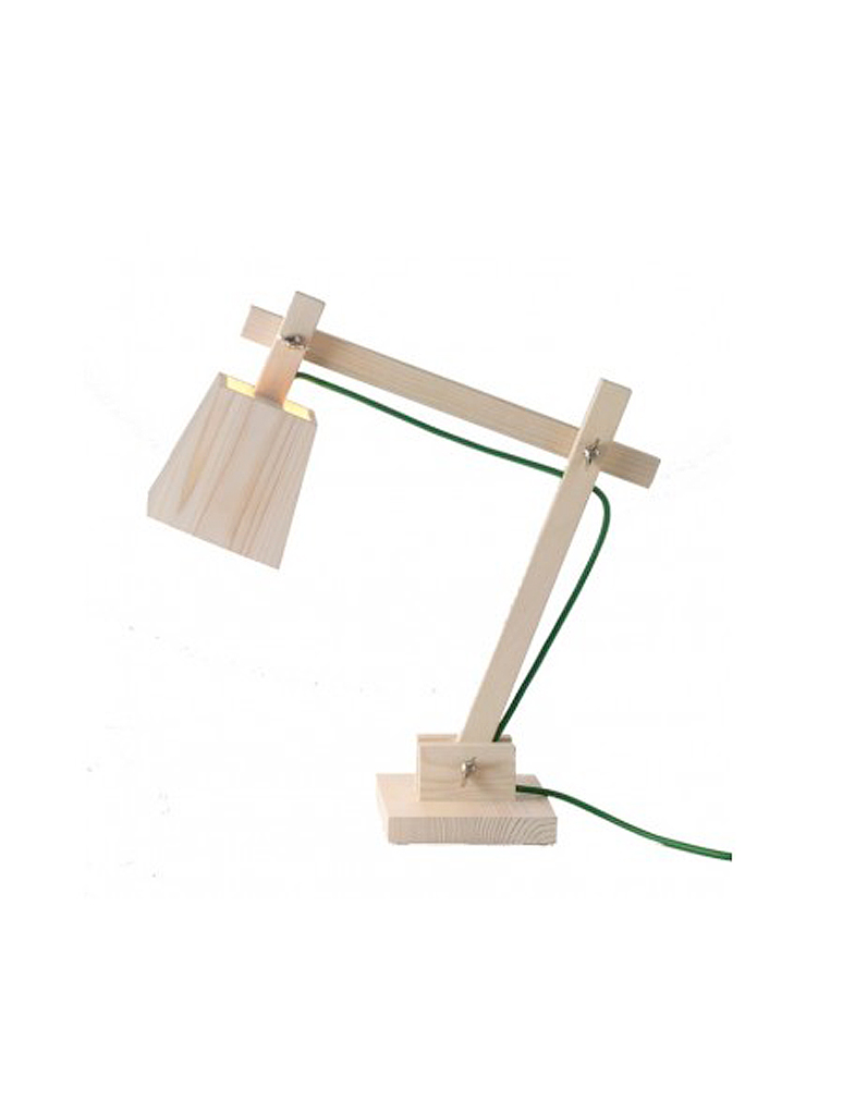 Arteum lampe de bureau wood lamp cadeaux du web la - Lampe de bureau fille ...