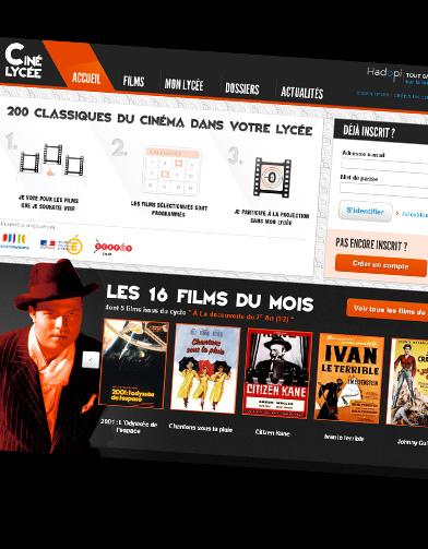 cin u00e9-lyc u00e9e fr   200 films gratuits pour les lyc u00e9ens