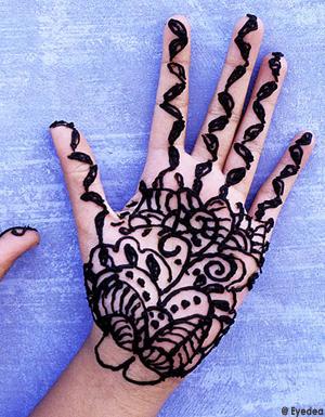 le tatouage au henn dangereux pour la sant elle. Black Bedroom Furniture Sets. Home Design Ideas