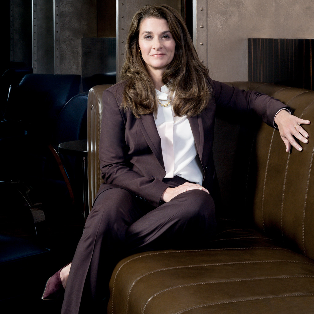 melinda gates la femme la plus riche du monde elle. Black Bedroom Furniture Sets. Home Design Ideas