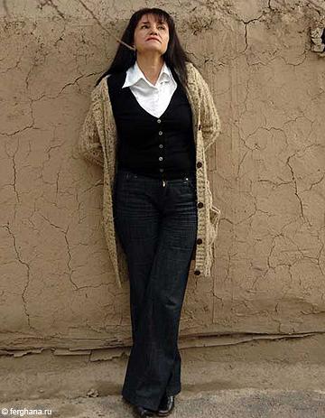 ouzb kistan elle d nonce la condition des femmes et risque la prison elle. Black Bedroom Furniture Sets. Home Design Ideas